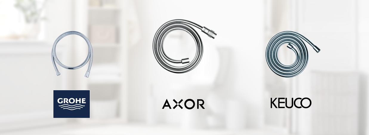 Flexibles de douche chez xTWO