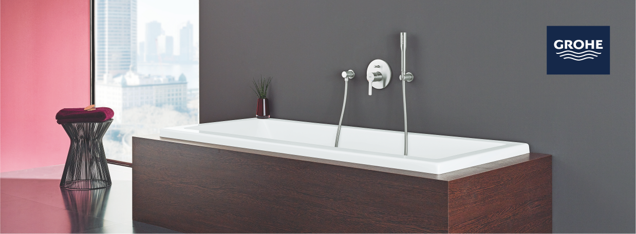 Single Lever Bathtub Taps from GROHE
