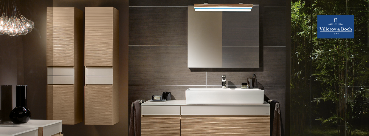 Villeroy&Boch Tall unit cabinets at xTWO
