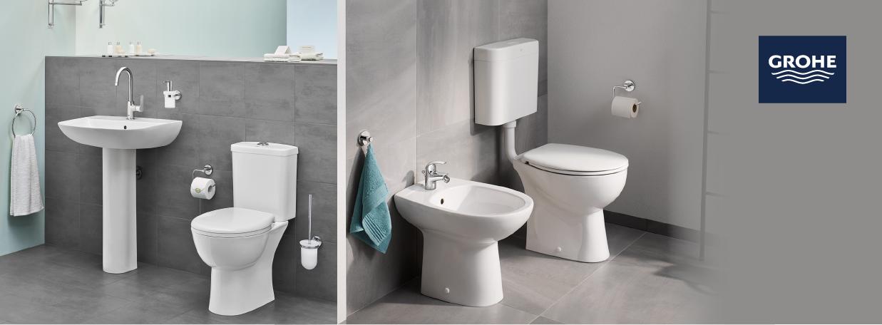 GROHE WCs à poser pour réservoir attenant chez xTWO