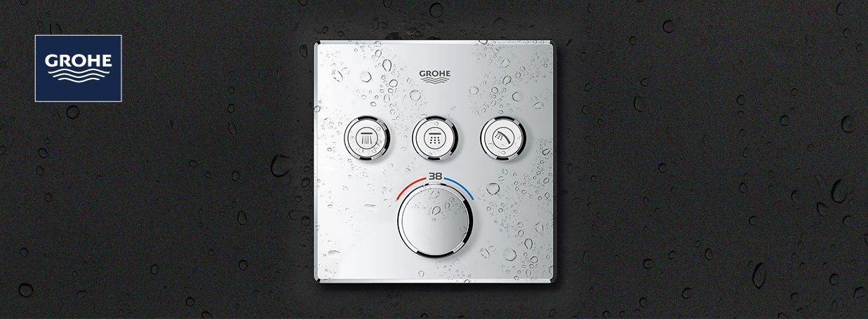 Robinetteries thermostatiques de douche GROHE