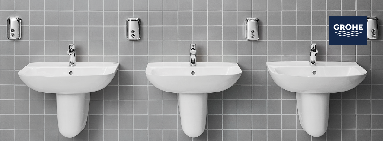 Wall hung basins from GROHE