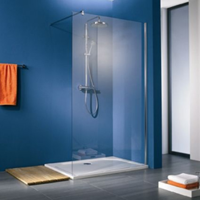HSK Walk In Premium - Gerades Element 100 Glasmattierung 1200 x 2000 mm 96 Sonderfarben