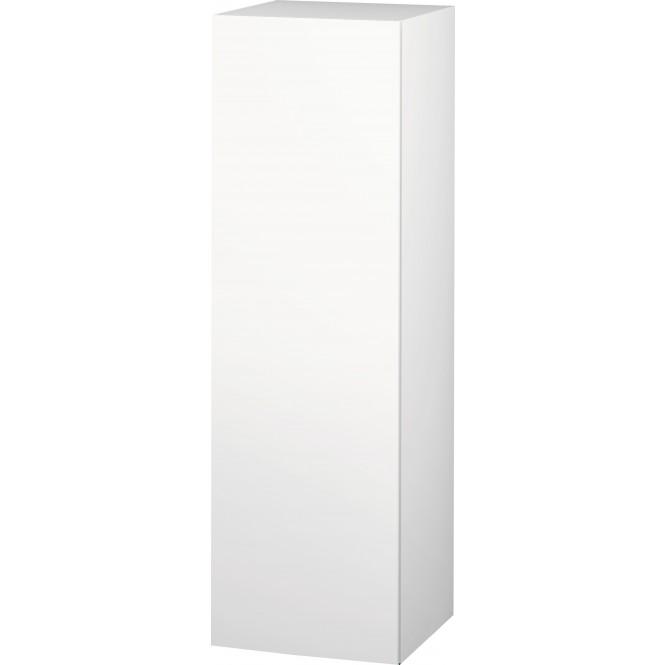 Duravit L-Cube - Halbhochschrank 500 x 1320 x 363 mm mit 1 Tür, 1 Holzfachboden, 2 Glasfachböden & Anschlag links eiche cashmere