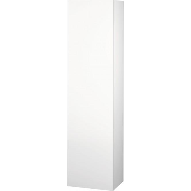 Duravit L-Cube - Halbhochschrank 500 x 2000 x 363 mm mit 1 Tür, 1 Holzfachboden, 3 Glasfachböden & Anschlag links eiche cashmere