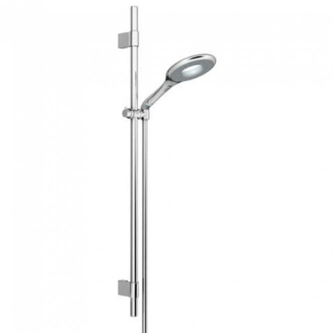 Grohe Rainshower Icon 150 - Brausestangenset ohne Durchflussbegrenzung chrom