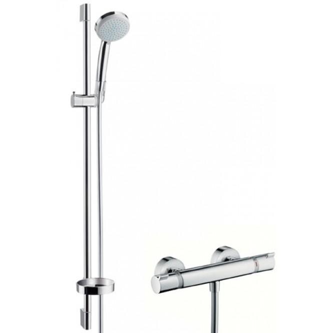 hansgrohe-croma-100-vario-ecosmart-ecostat-shower-sets