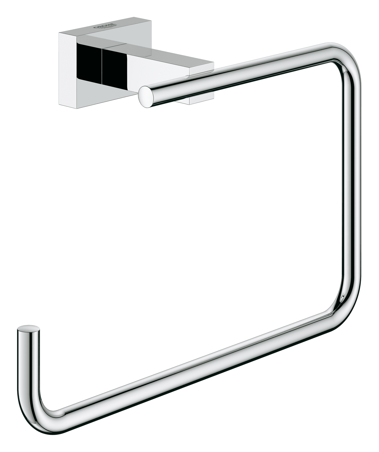 GROHE Essentials Cube Handtuchring chrom