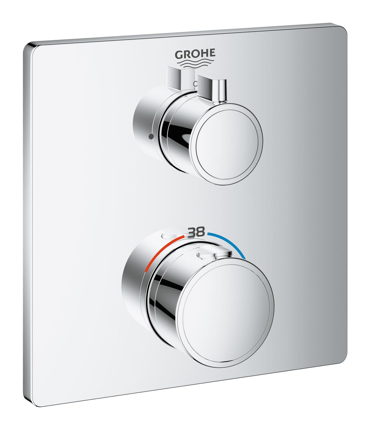 GROHE Grohtherm Unterputz-Duschthermostat für 1 Verbraucher ...