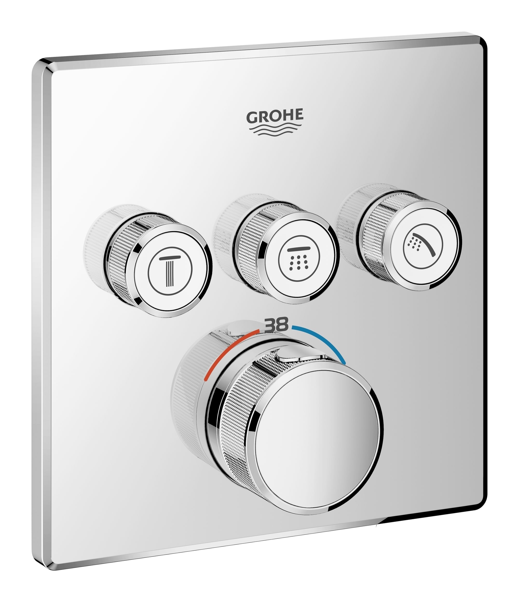 GROHE Grohtherm SmartControl Unterputz-Thermostatarmatur für ...
