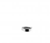 Emco Flow - Seifenhalter Glasteil satiniert chrom