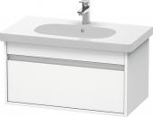 Duravit Ketho - Waschtischunterbau 800 x 410 x 455 mm mit 1 Auszug weiß matt