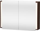 Duravit Ketho - Spiegelschrank 1000 x 750 x 180 mm mit 2 Spiegeltüren & 2 Glasfachböden verspiegelt