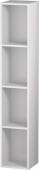 Duravit L-Cube - Regalelement vertikal 180 x 1000 x 180 mm mit 4 Fächern weiß hochglanz