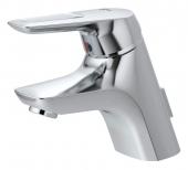 Ideal Standard CeraMix Blue - Einhebel-Waschtischarmatur XS-Size mit Zugstangen-Ablaufgarnitur chrom
