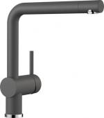 Blanco Linus - Küchenarmatur Silgranit-Look Hochdruck felsgrau