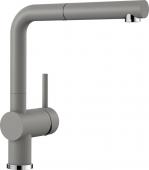 Blanco Linus-S - Küchenarmatur Silgranit-Look Hochdruck alumetallic