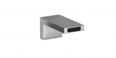 Dornbracht Deque - Wall-mounted basin spout  für Wandmontage mit Ausladung 125 mm ohne Ablaufgarnitur platin matt