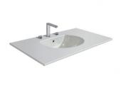 DURAVIT Darling New - Waschtisch für Möbel 630x520mm mit 3 Hahnlöchern mit Überlauf weiß ohne WonderGliss
