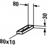 Duravit - Handtuchhalter Universal 80 x 412 mm für Konsole