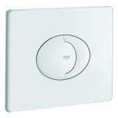 GROHE Skate Air - Drückerplatte für WC mit 2-Mengen-Spülung & Start-Stopp-Betätigung weiß / weiß
