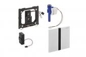 Geberit Sigma50 - Infrarot-Elektronik Drückerplatte für Urinal chrom gebürstet / schwarz