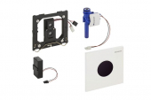 Geberit Sigma01 - Infrarot-Elektronik Drückerplatte für Urinal chrom hochglanz / schwarz