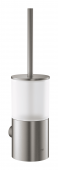 Grohe Atrio - Toilettenbürstengarnitur Wandmontage supersteel