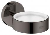 Grohe Essentials - Halter für Becher Seifenschale / Seifenspender hard graphite