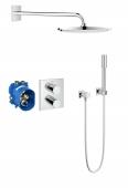 Grohe Grohtherm 3000 - Duschsystem Rainshower Cosmopolitan 310