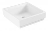 Grohe Cube - Aufsatzschale 400 mm PureGuard weiß