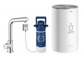 Grohe Red Mono - Standventil und Boiler M-Size L-Auslauf chrom