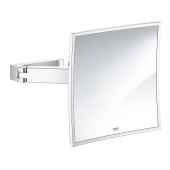 Grohe Selection Cube - Kosmetikspiegel Wandmontage chrom