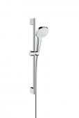 Hansgrohe Croma Select E - 1jet Shower Set 0,65 m weiß / chrom