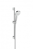 Hansgrohe Croma Select E - Vario Shower Set 0,65 m weiß / chrom