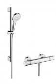 Hansgrohe - Croma Select S Vario Combi Set 0,65 m weiß / chrom