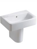 Ideal Standard Connect - Waschtisch für Möbel 500x360mm ohne Hahnlöcher mit Überlauf weiß mit IdealPlus