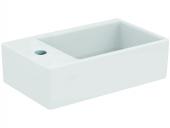 Ideal Standard Strada - Handwaschbecken 450x270mm mit 1 Hahnloch links ohne Überlauf weiß mit IdealPlus