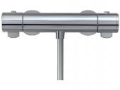 Keuco Plan - Aufputz-Duschthermostat für 1 Verbraucher aluminium-finish