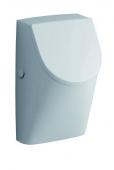 Geberit Renova Nr. 1 Plan - Urinal mit Deckel Zulauf von hinten Abgang nach hinten weiß mit KeraTect