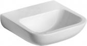 Ideal Standard Contour - Handwaschbecken 400x365mm ohne Hahnlöcher ohne Überlauf weiß ohne IdealPlus