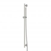 Steinberg Serie 100 BN - Brausegarnitur 900 mm mit Mikrofonhandbrause brushed nickel