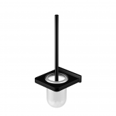 Steinberg Series 450 - Bürstengarnitur mit Glas satiniert matt black