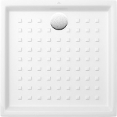Villeroy & Boch O.novo - Duschwanne quadratisch 900x900 weiß mit Antislip