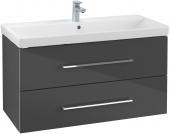 Villeroy & Boch Avento - Waschtischunterschrank 967 x 520 x 447 mm crystal grey