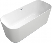 Villeroy & Boch Finion - Badewanne Ventil ÜL Design-Ring Emotion-Funktion verchromt white alpin