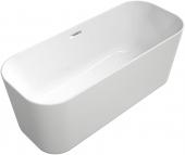 Villeroy & Boch Finion - Badewanne Ventil ÜL Design-Ring Emotion-Funktion verchromt white alpin