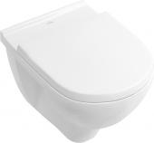 Villeroy & Boch O.novo - Wand-Tiefspül-WC 560 x 360 mm mit offenem Spülrand und DirectFlush weiß