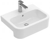Villeroy & Boch Architectura - Vorbauwaschtisch 550 x 430 mm mit Überlauf weiß alpin C+