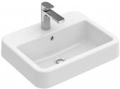 Villeroy & Boch Architectura - Einbauwaschtisch 550 x 430 mm mit Überlauf weiß alpin C+